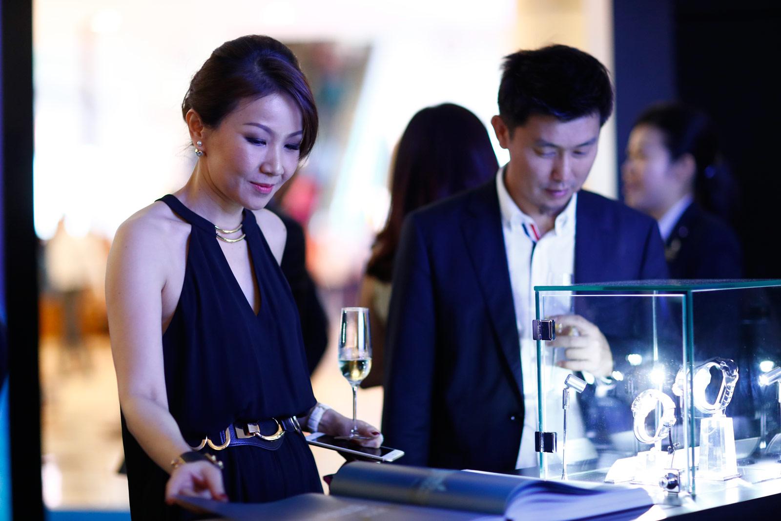 The Blancpain Ocean Commitment Exhibition In Kuala Lumpur