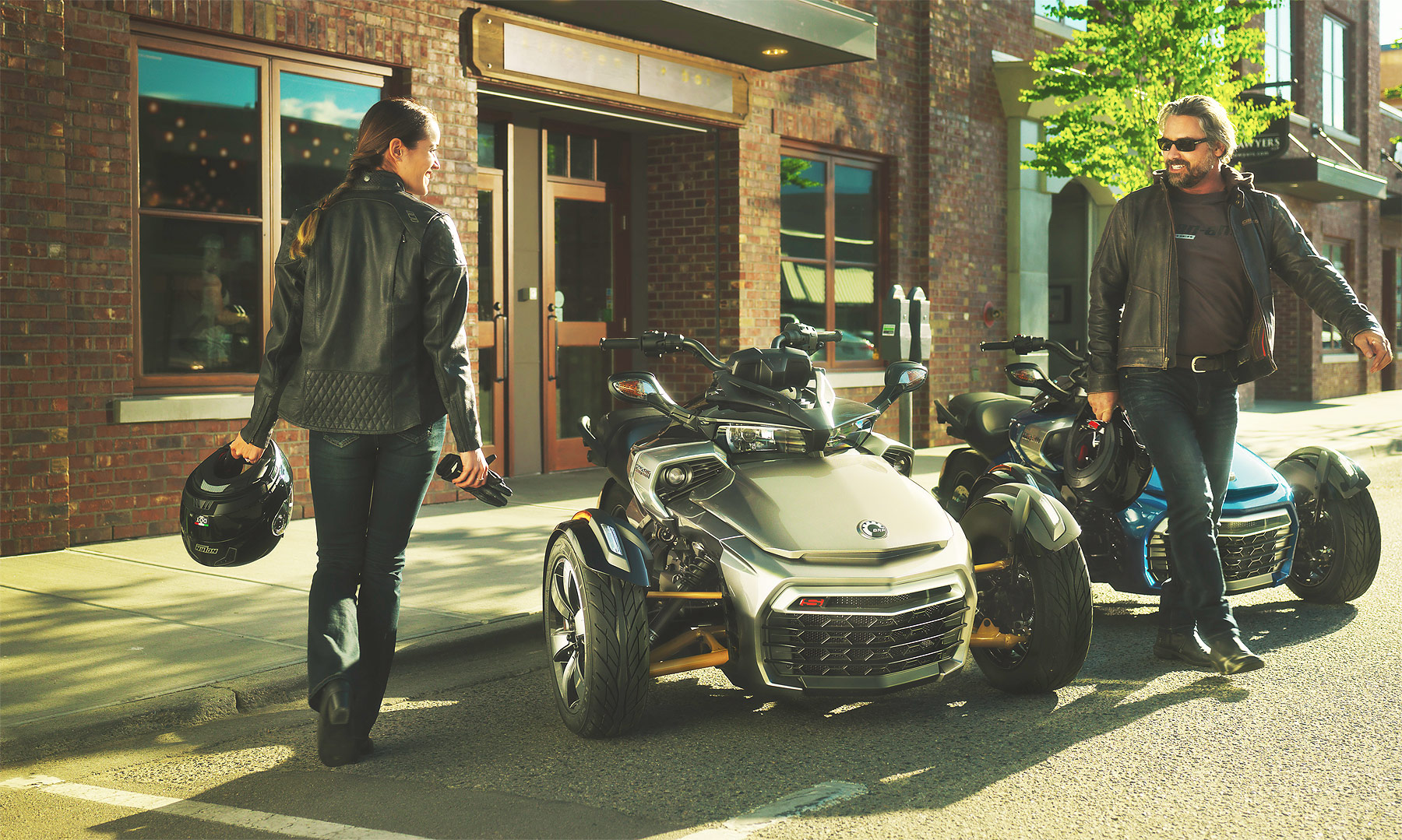 The Can-Am Spyder F3 Limited Brings Touring Capability To The Line-up