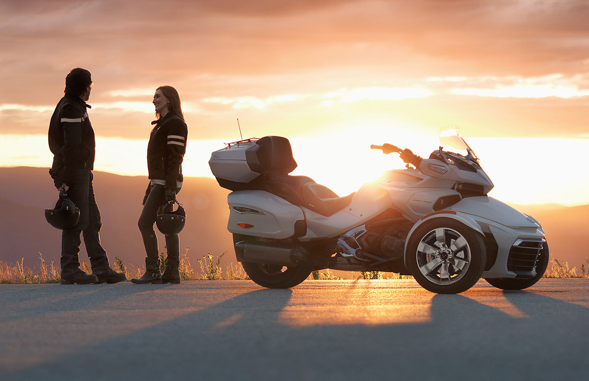 The Can-Am Spyder F3 Limited