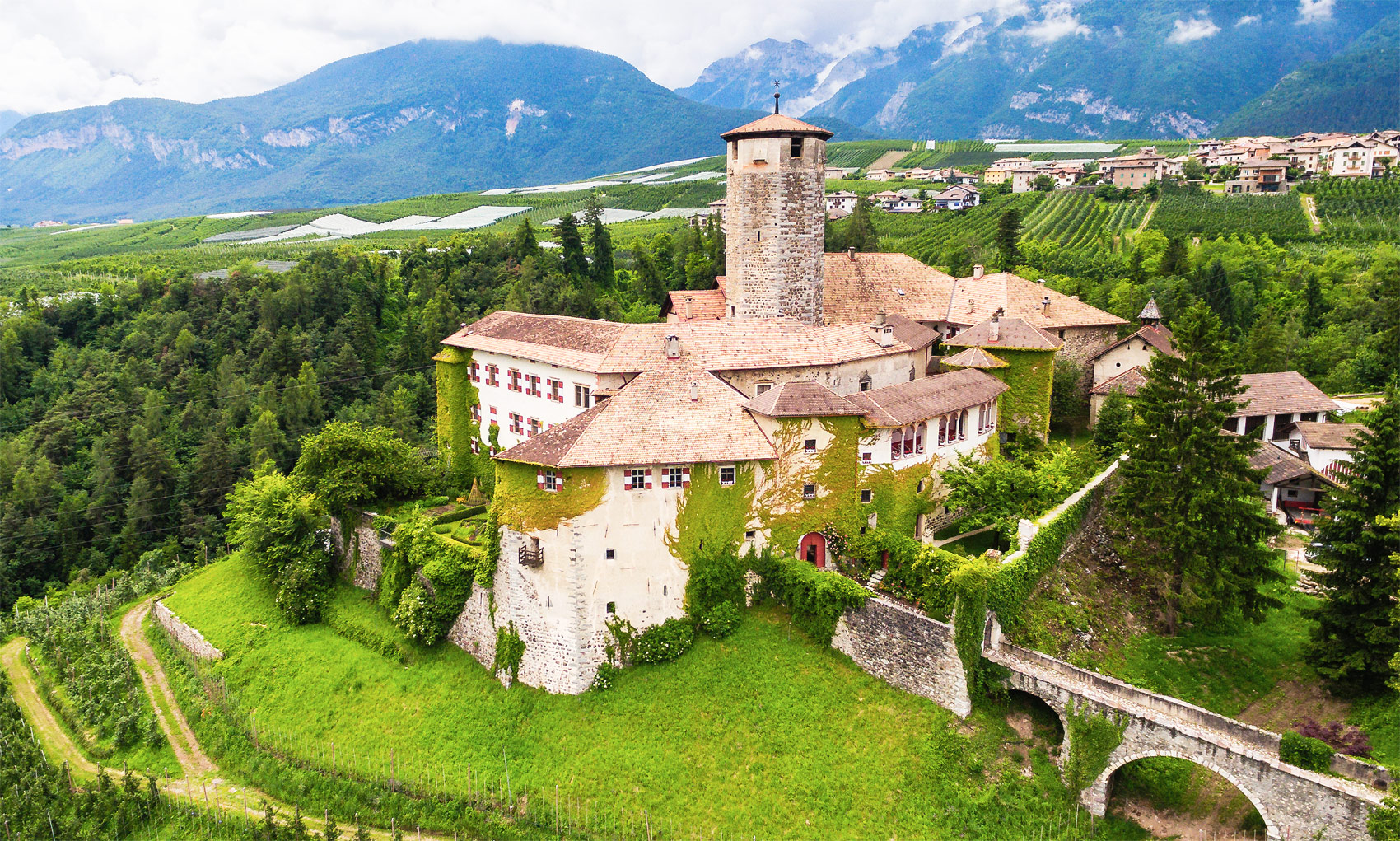 The Historic Castel Valer In Italy Is Ready For A New Owner