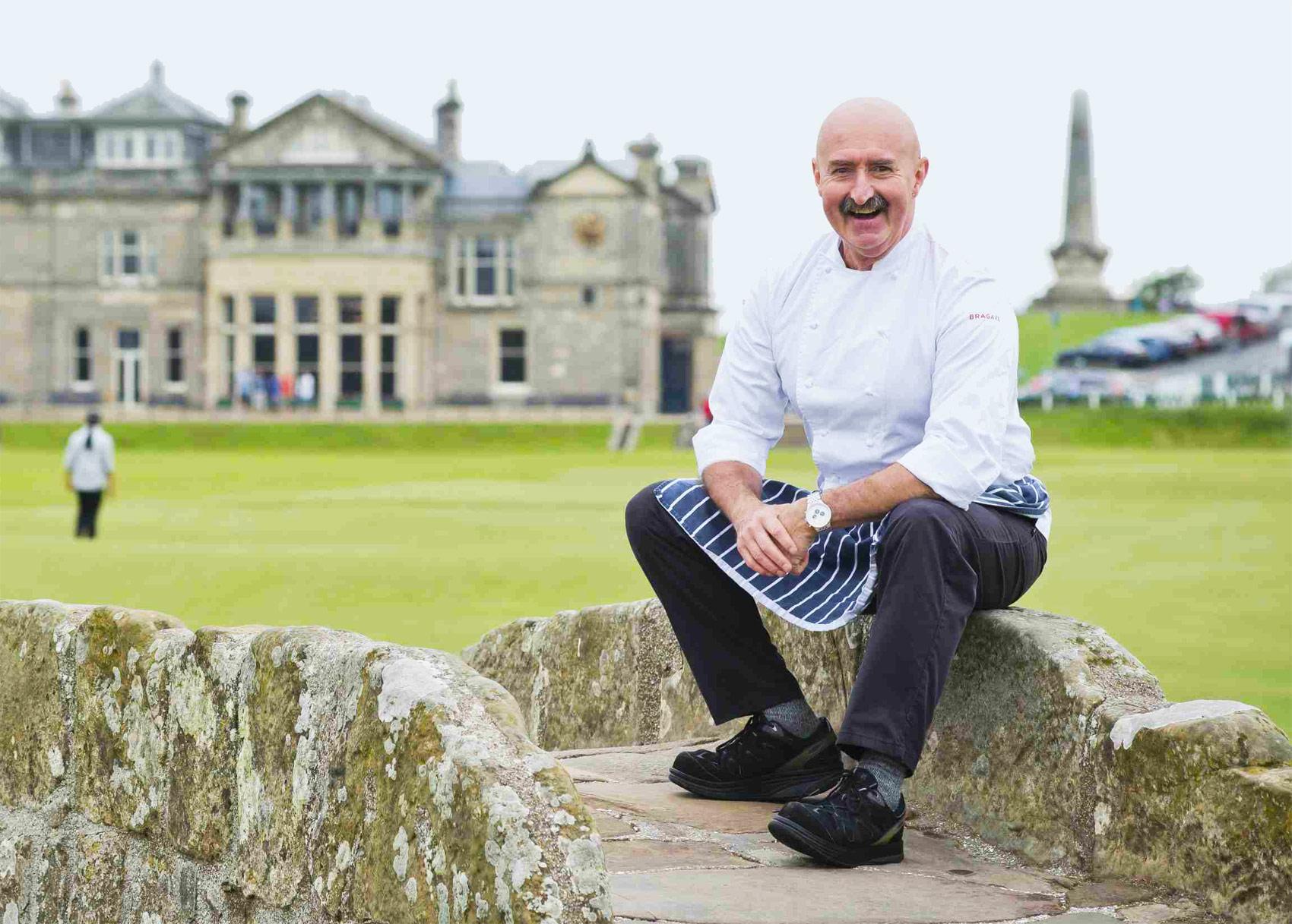Michelin Starred Chef Tony Borthwick Joins The Macdonald Rusacks Hotel