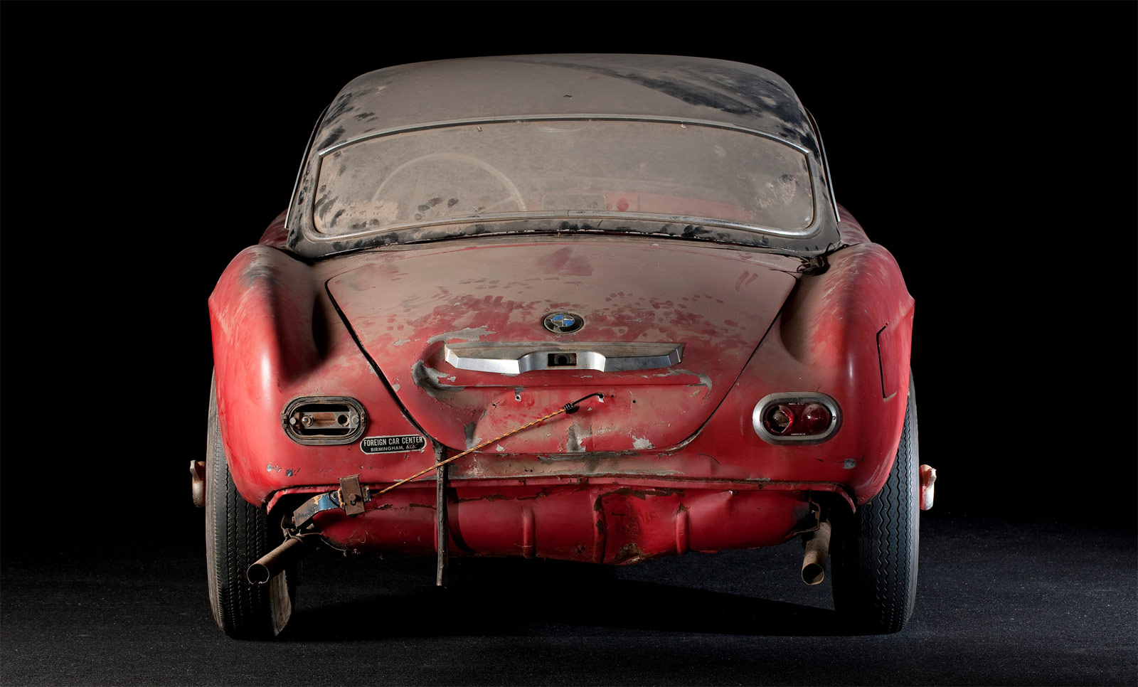 The BMW 507 Owned By Elvis Presley Returns To Its Former Glory 8
