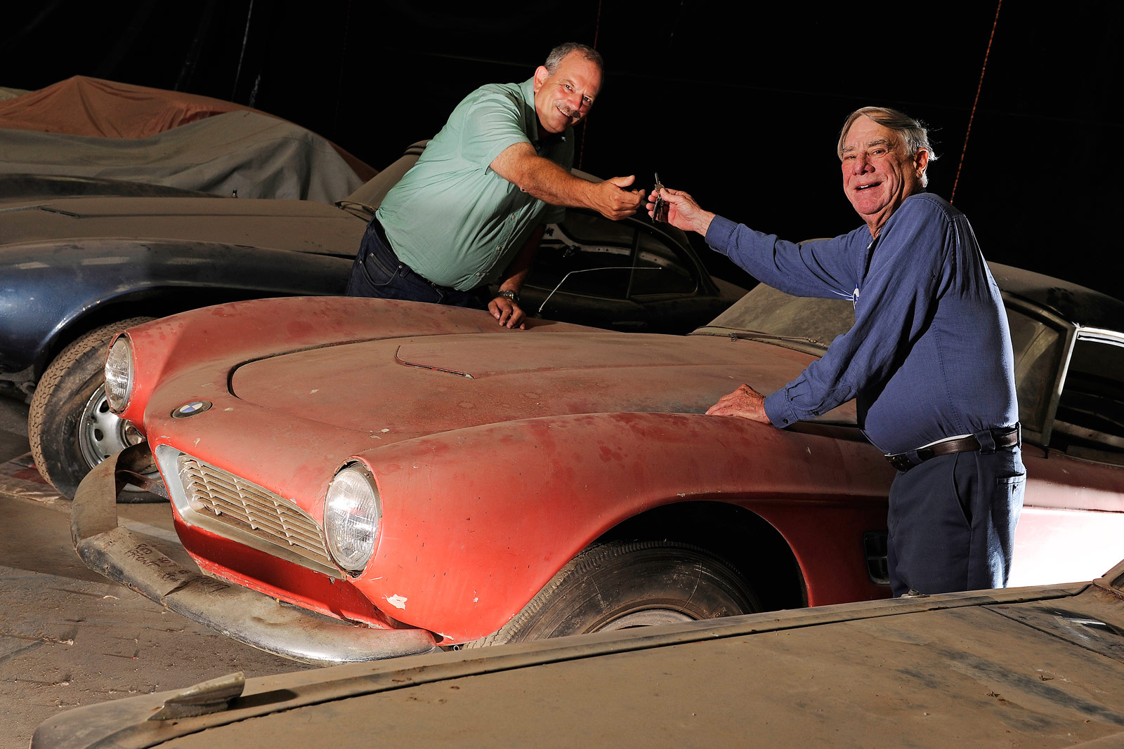 The BMW 507 Owned By Elvis Presley Returns To Its Former Glory 9