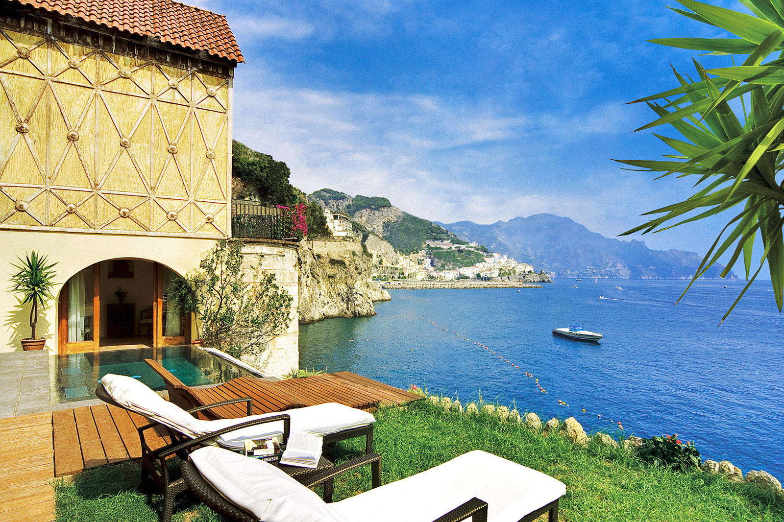 The Sophisticated Charm Of The Amalfi Coast's Hotel Santa Caterina