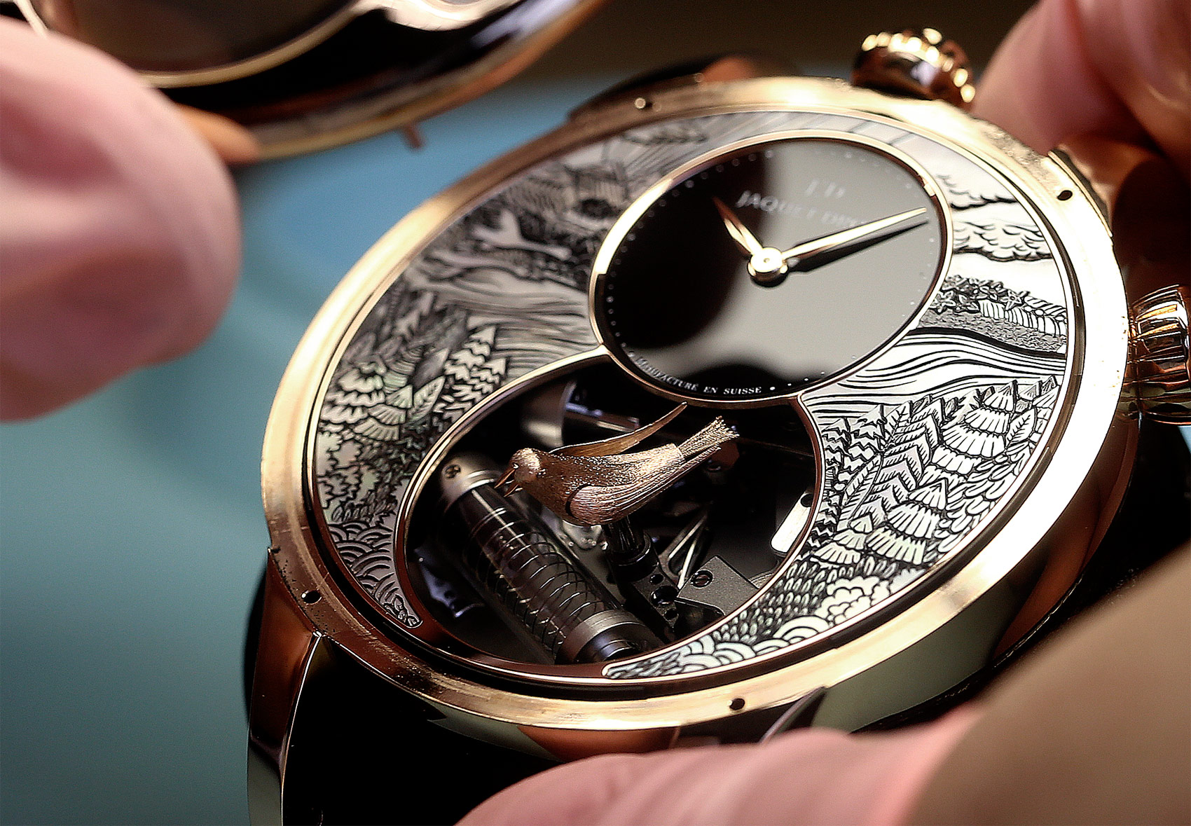 The Jaquet Droz Charming Bird – The Art Of Nature At Its Peak