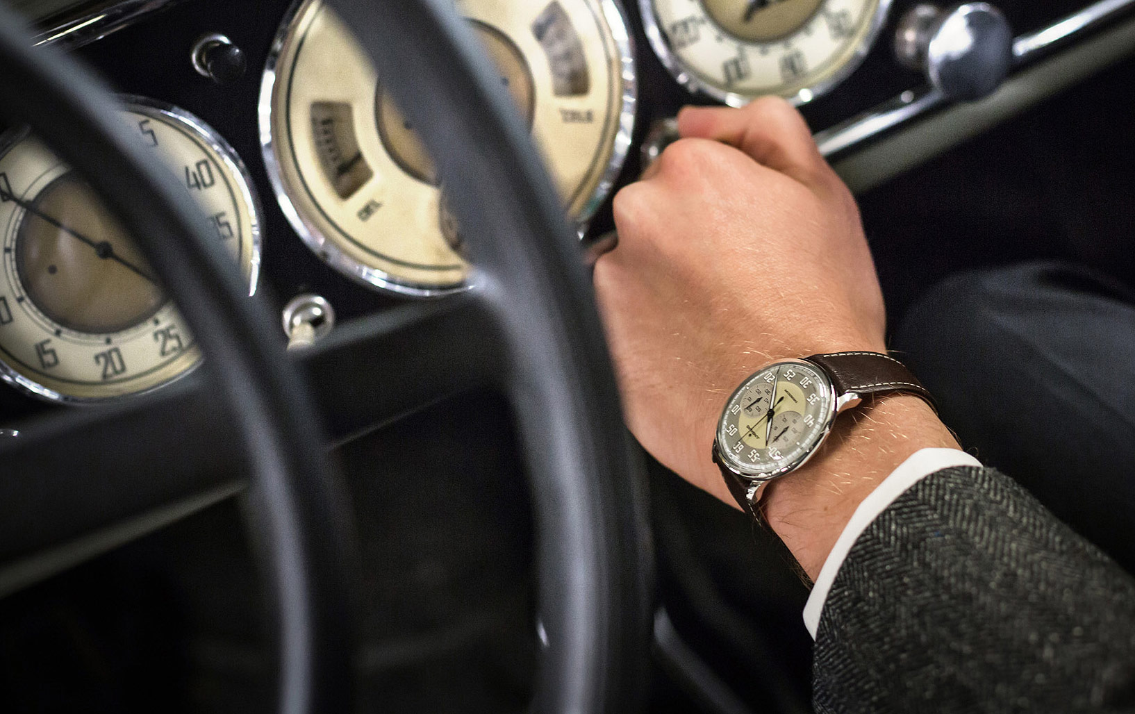 The Junghans Meister Driver Chronoscope: An expression of pure passion
