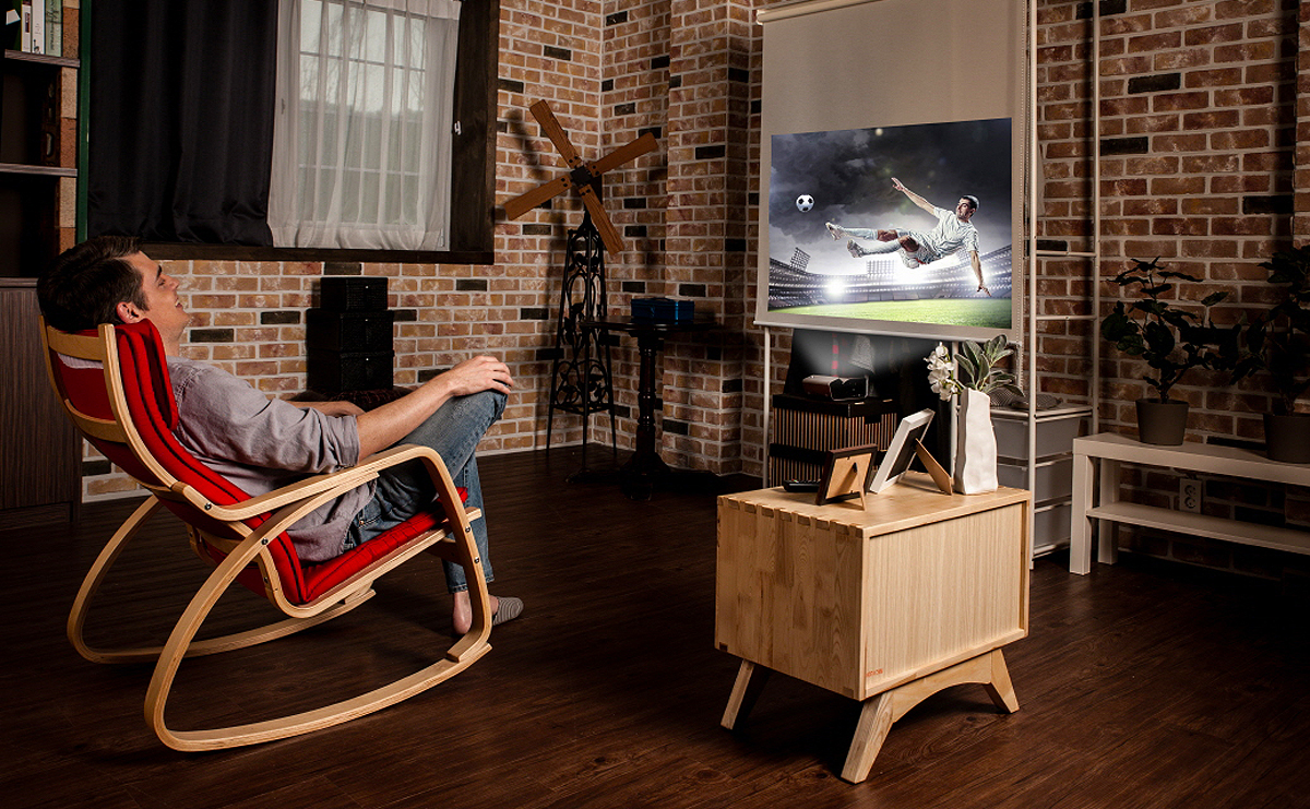 Home Cinema Looks Even Better With LG's New Minibeam Projectors