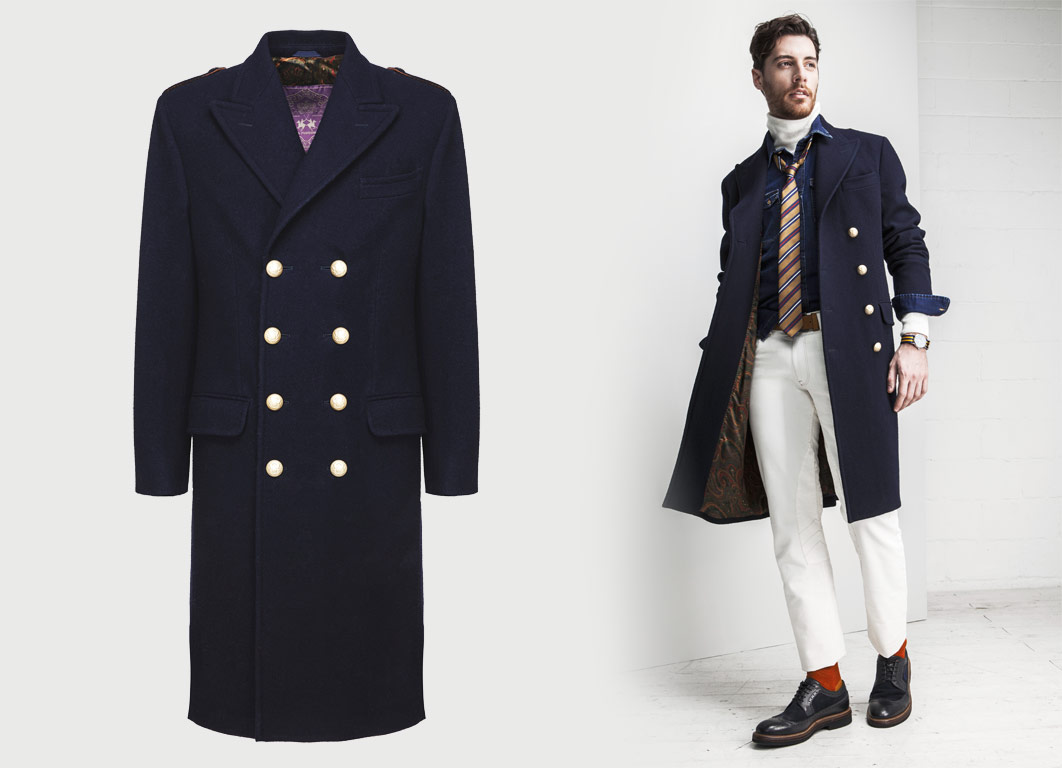 La Martina Churchill Coat