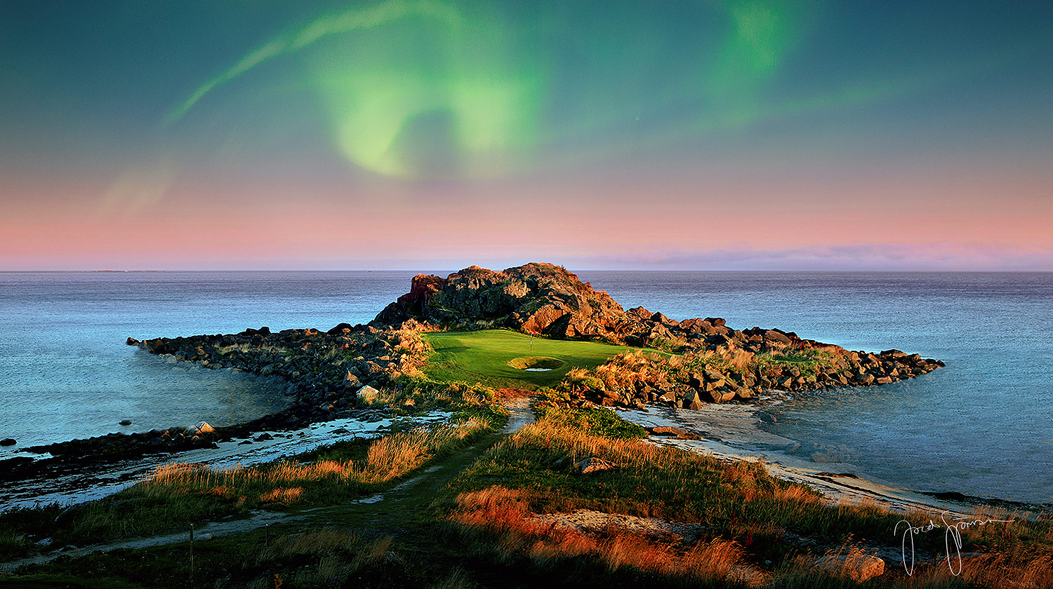 Golf & Luxury Lodgings 95 Miles North Of The Arctic Circle