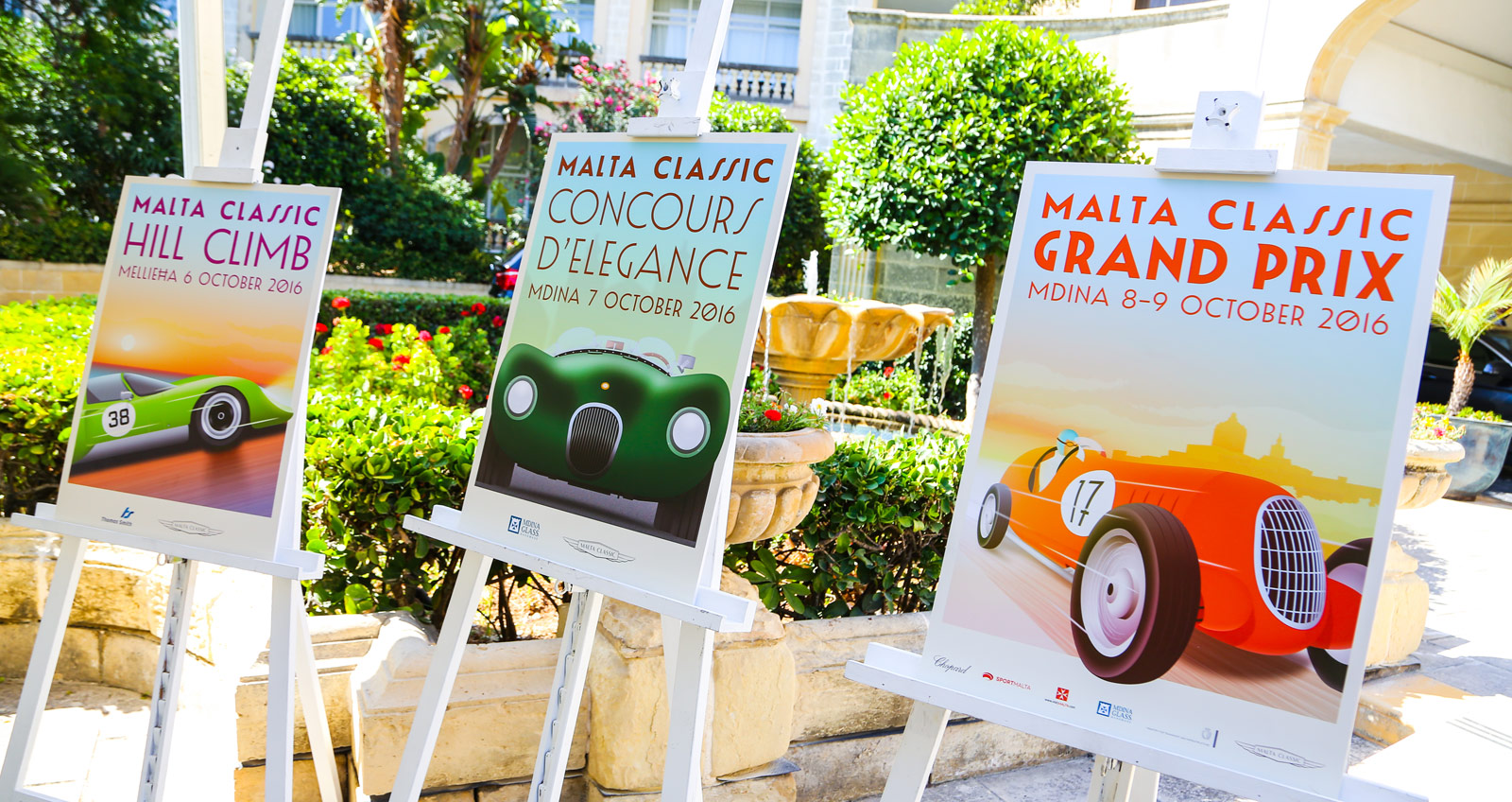 Gearing Up For The Malta Classic - One Of Europe's Finest Vintage Car Rallies 7