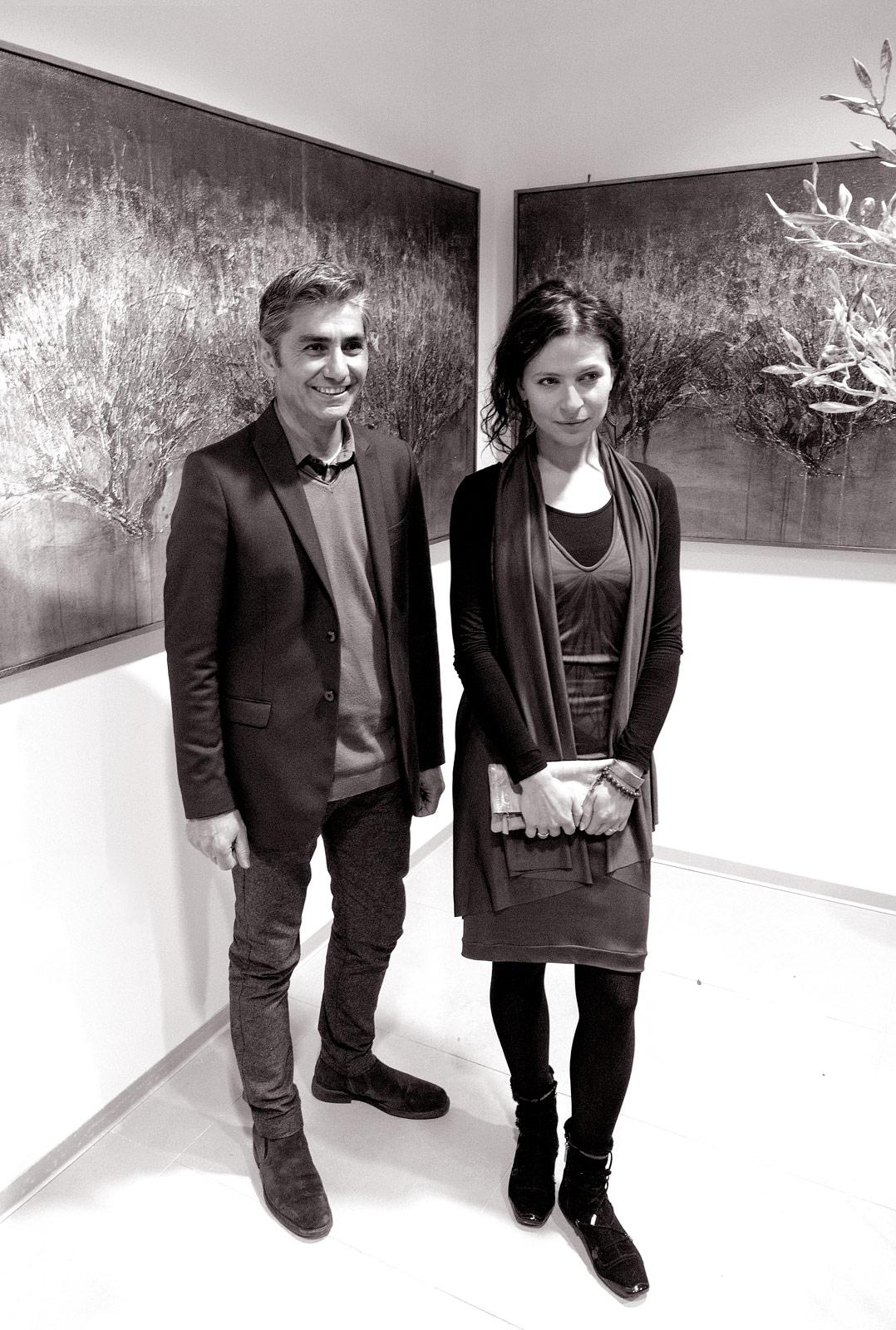 Andrea Roggi and Olga Niescier