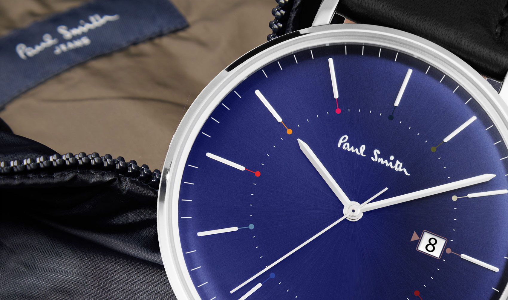 Take Some Time To Look At The Paul Smith Track Collection