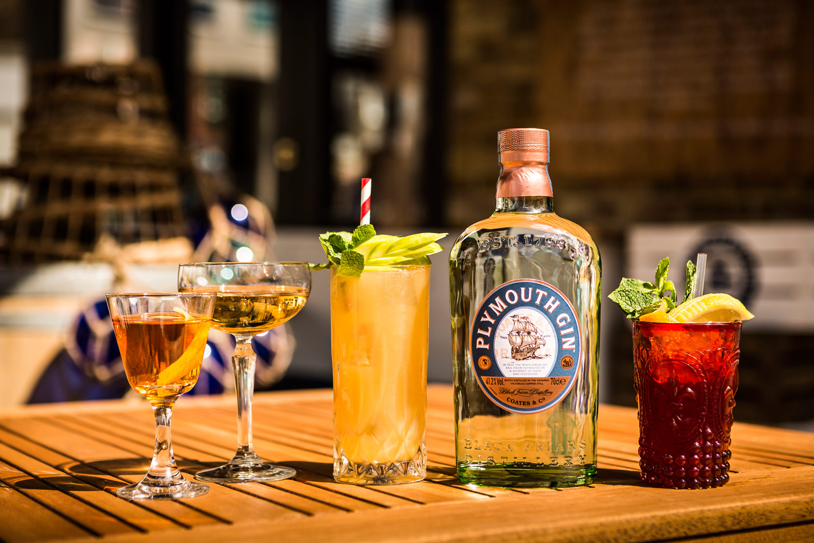Sail Into The Plymouth Gin Dock At Rivington Greenwich This Summer