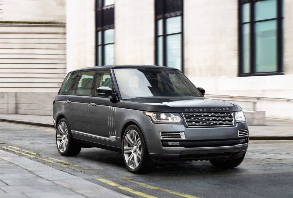 Exterior shot of the Range Rover