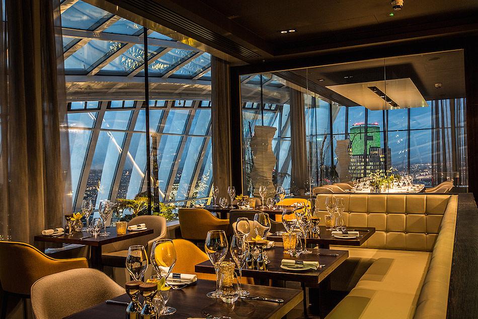 London 39 S Sky Garden Elevates British Contemporary Cuisine