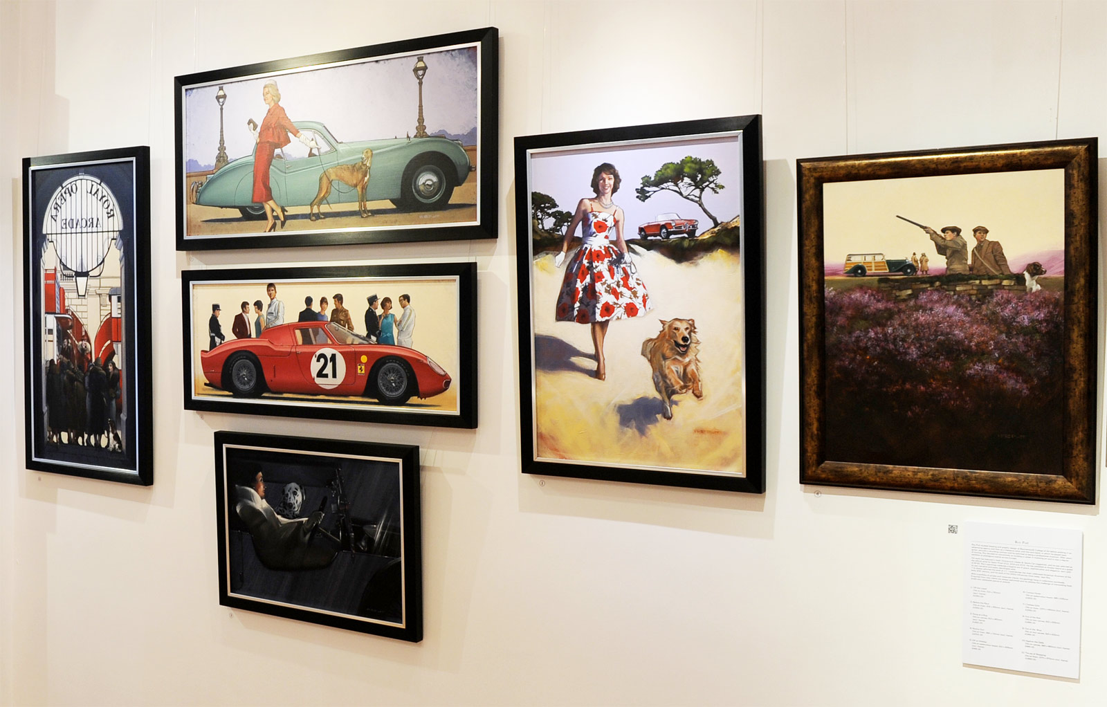 A Brush With Speed – Royal Automobile Club To Hold Art of Motoring Exhibition