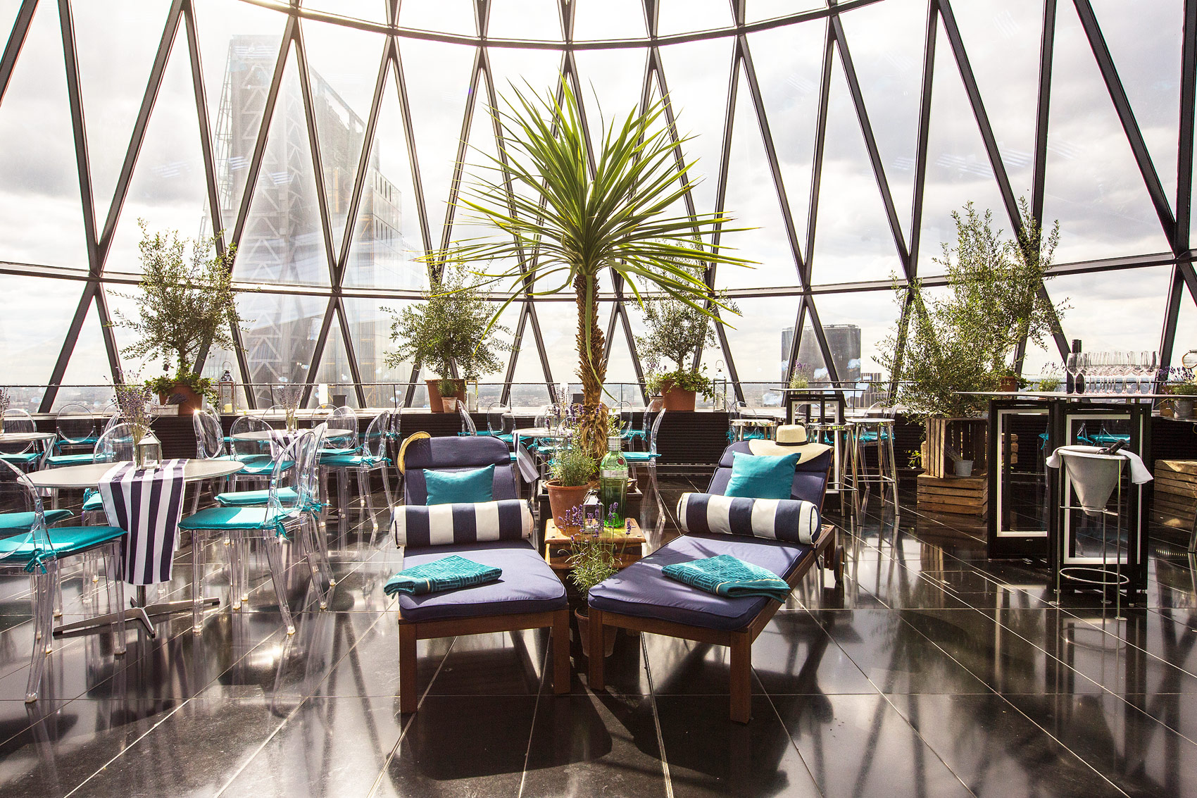 We Go Sky-High In Searcys Summer Pop-Up At London's Gherkin