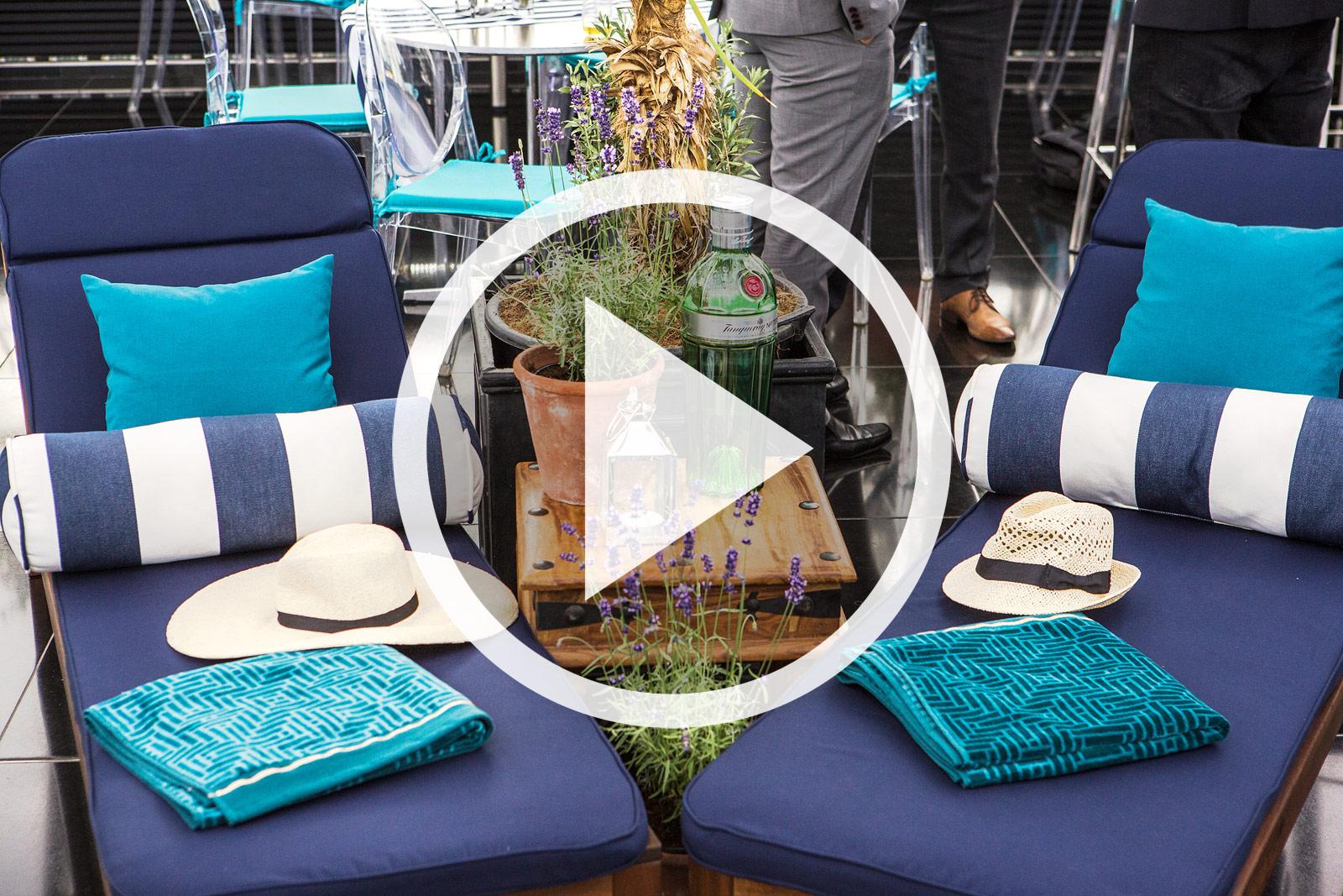 A short video of Searcys Summer Sky Riviera Bar