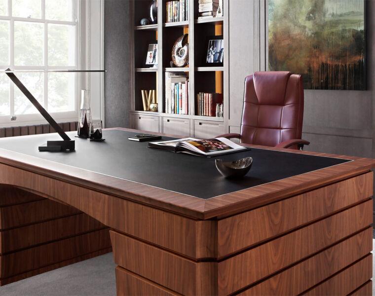 British Furntiture Make Smallbone Unveils New Desk And Wine Wall