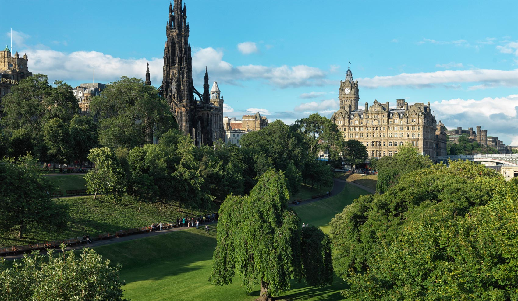 The Balmoral, Edinburgh Is Buzzing And It's Not Just From The Vibrant Area