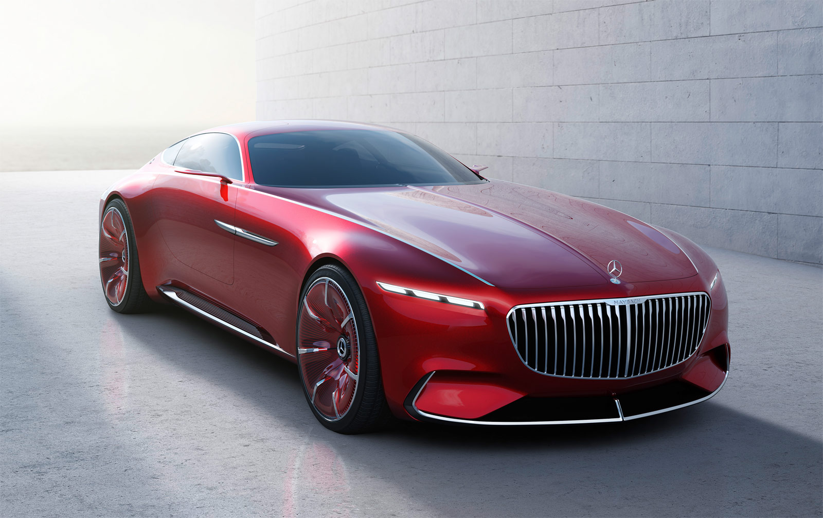 The Vision Mercedes-Maybach 6 – A Synthesis Of Intelligence And Emotion