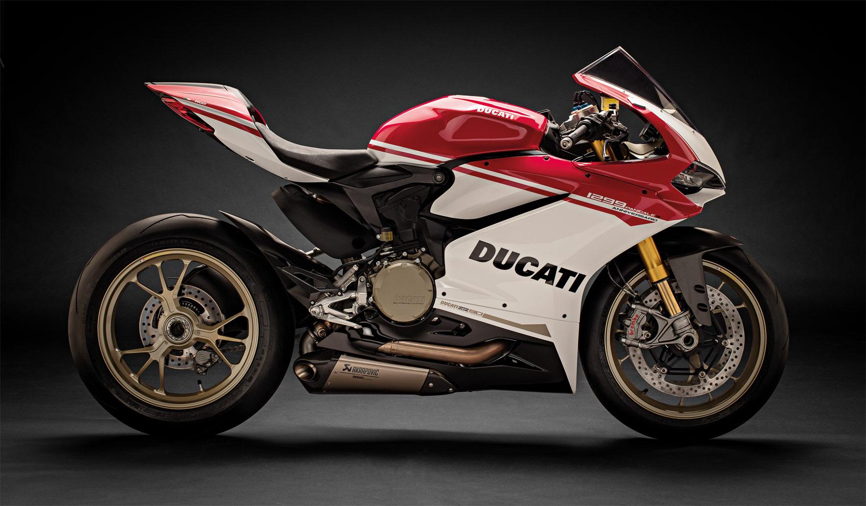 The Limited Edition Ducati 1299 Panigale S Anniversario