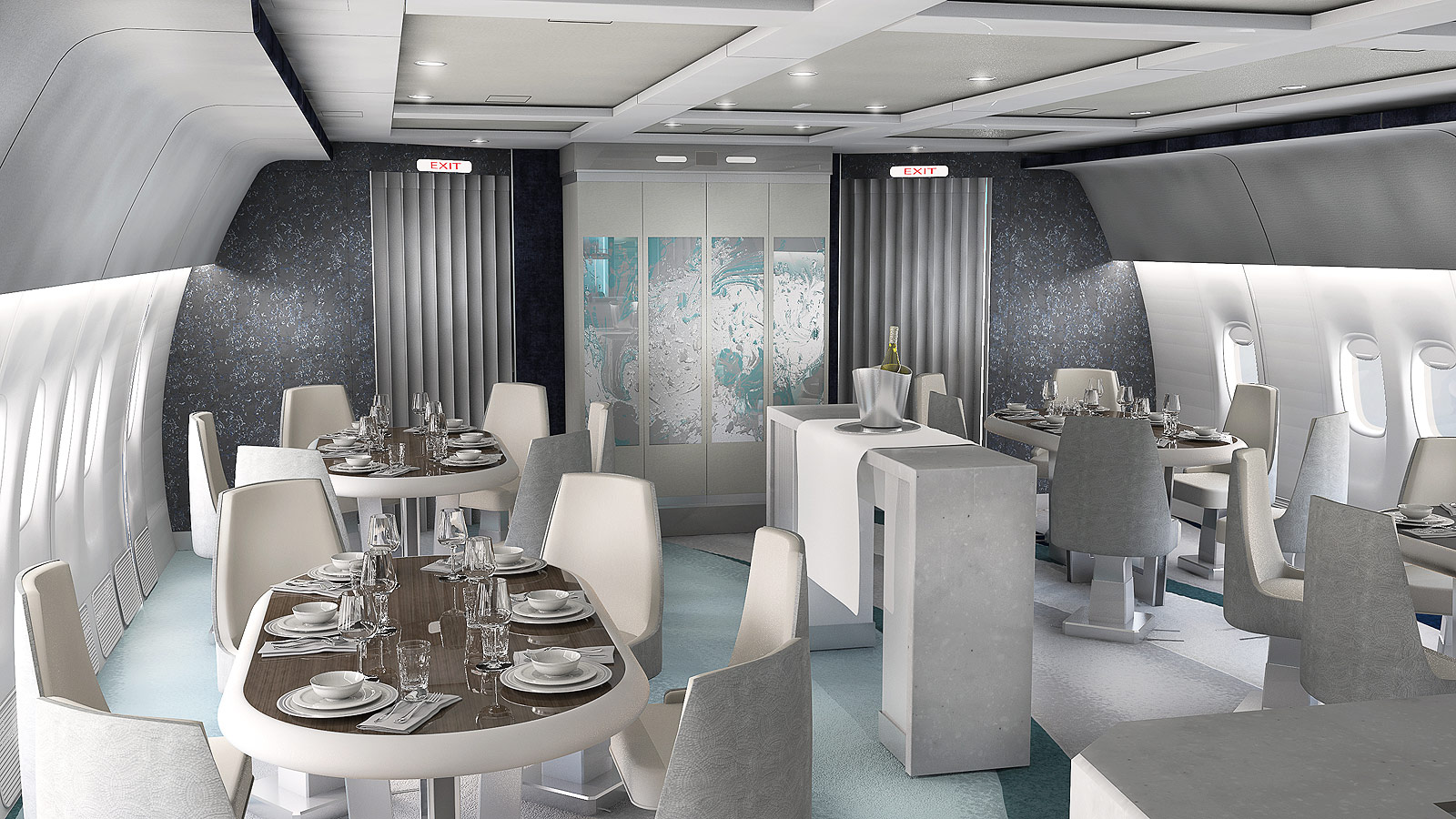 Crystal AirCruises Unveils Stylish Design For 777-200LR Luxury Jet