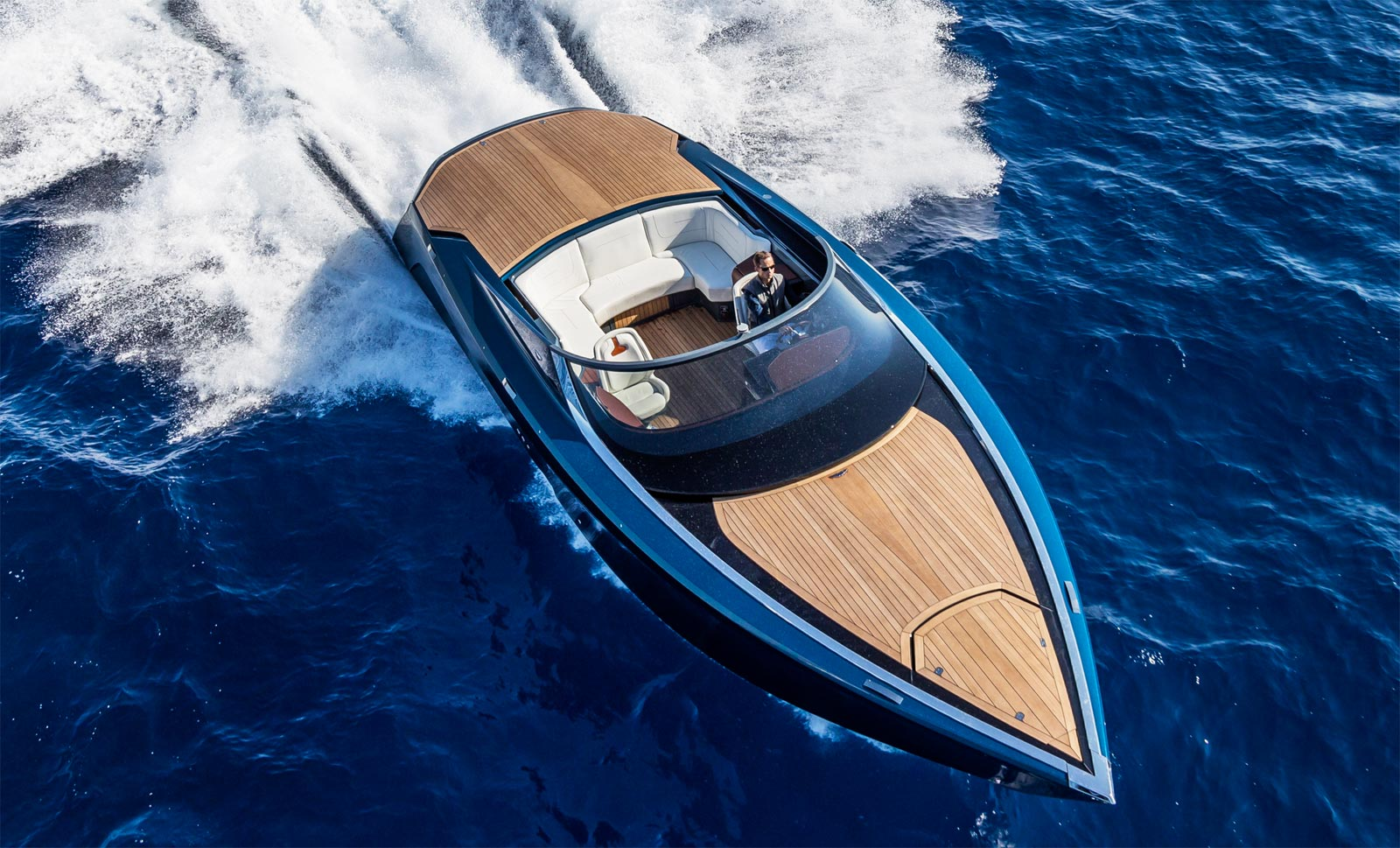 Aston Martin AM37 Powerboat Is Unveiled At The Monaco Yacht Show