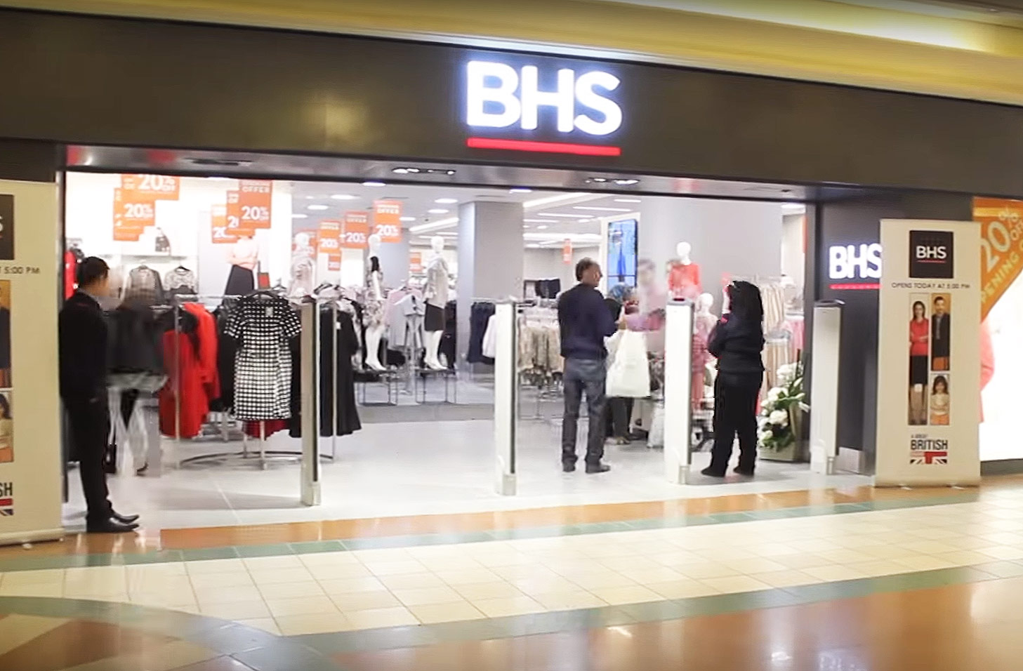 BHS, The Former UK High-Street Department Store Returns As Online Retailer