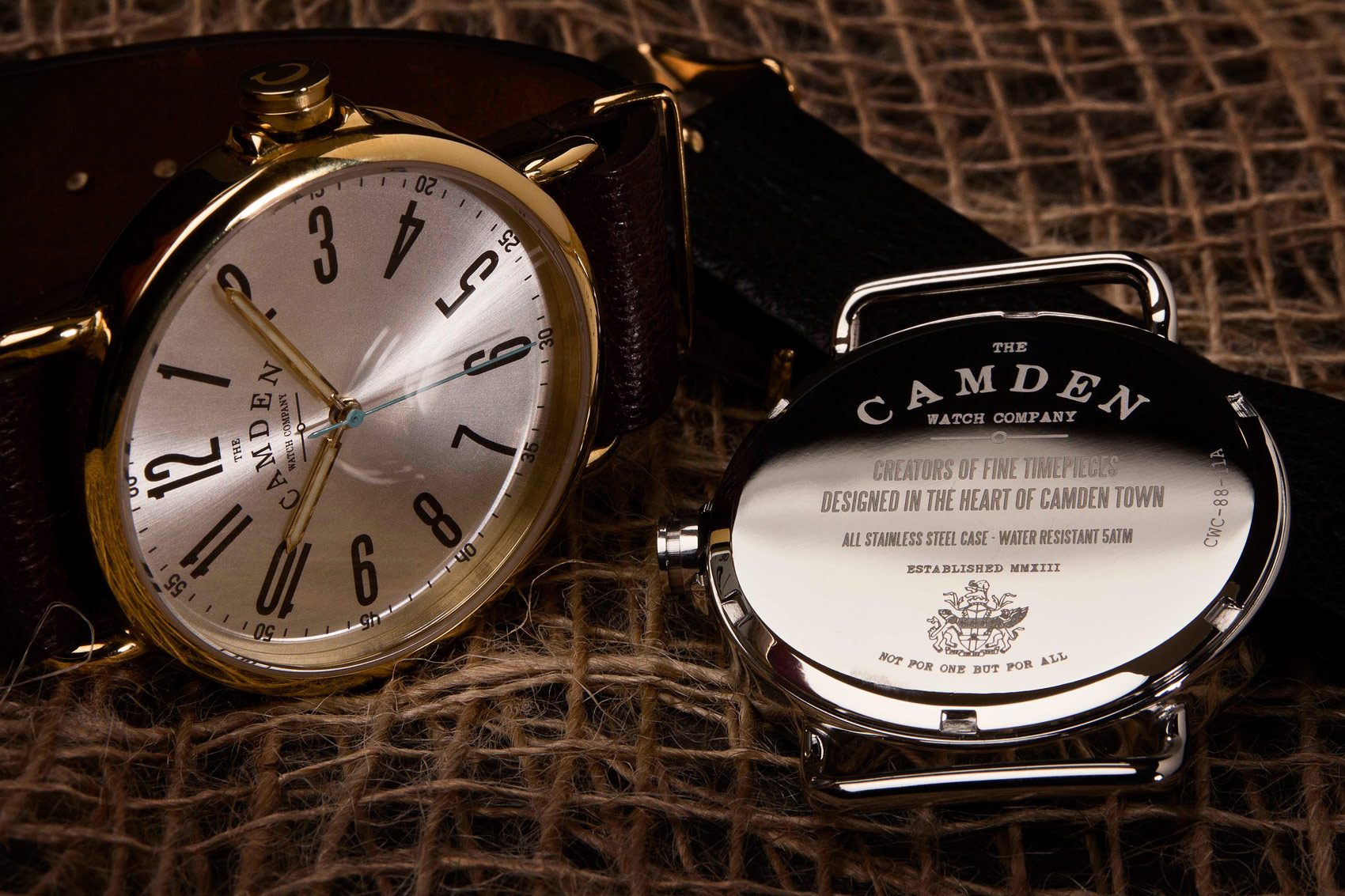 Henry McIntosh meets the Camden Watch Company. A brand channelling the best of Camden's rich Victorian heritage into stunning timepieces