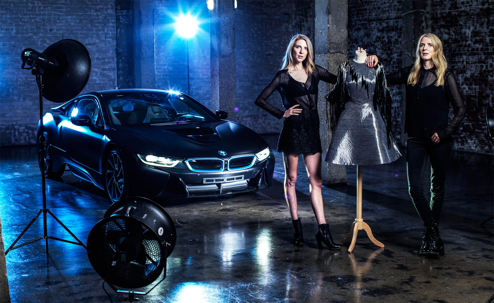 Fashion Designers Felder Felder Unveil Sustainable Carbon Dress