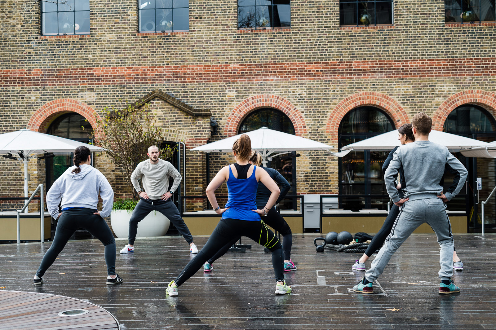 German Gymnasium and MW5 Fitness Team Up For Retro Boot Camp Brunch