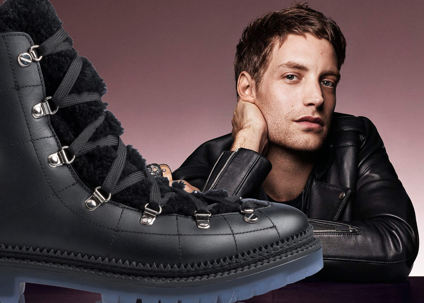 When The Shoe Fits: Jimmy Choo AW 2016 Men's Campaign With James Jagger