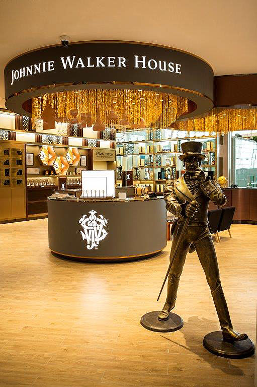 Travellers At Asian Airports To Experience Johnnie Walker Houses 4