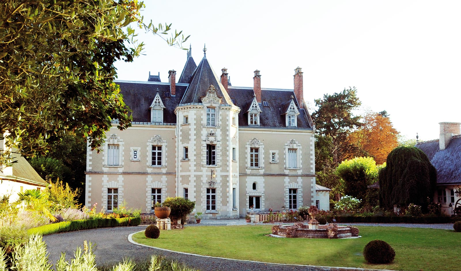 Charm And Character At Le Château de Fontenay In France's Loire Valley