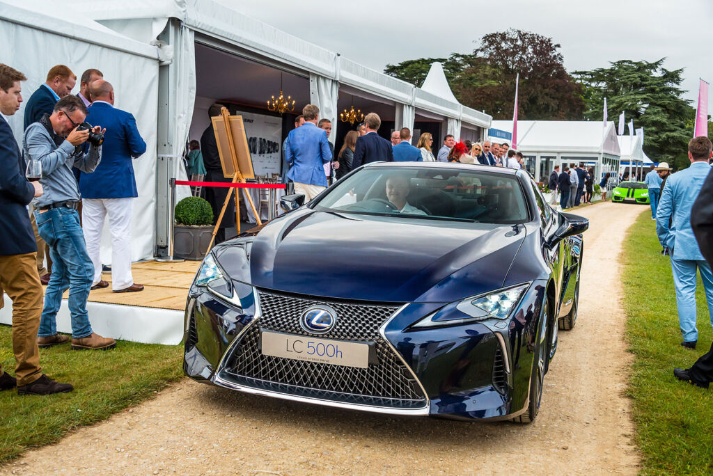 The Lexus Lineup Proves To Be A Big Hit At Salon Prive 2016