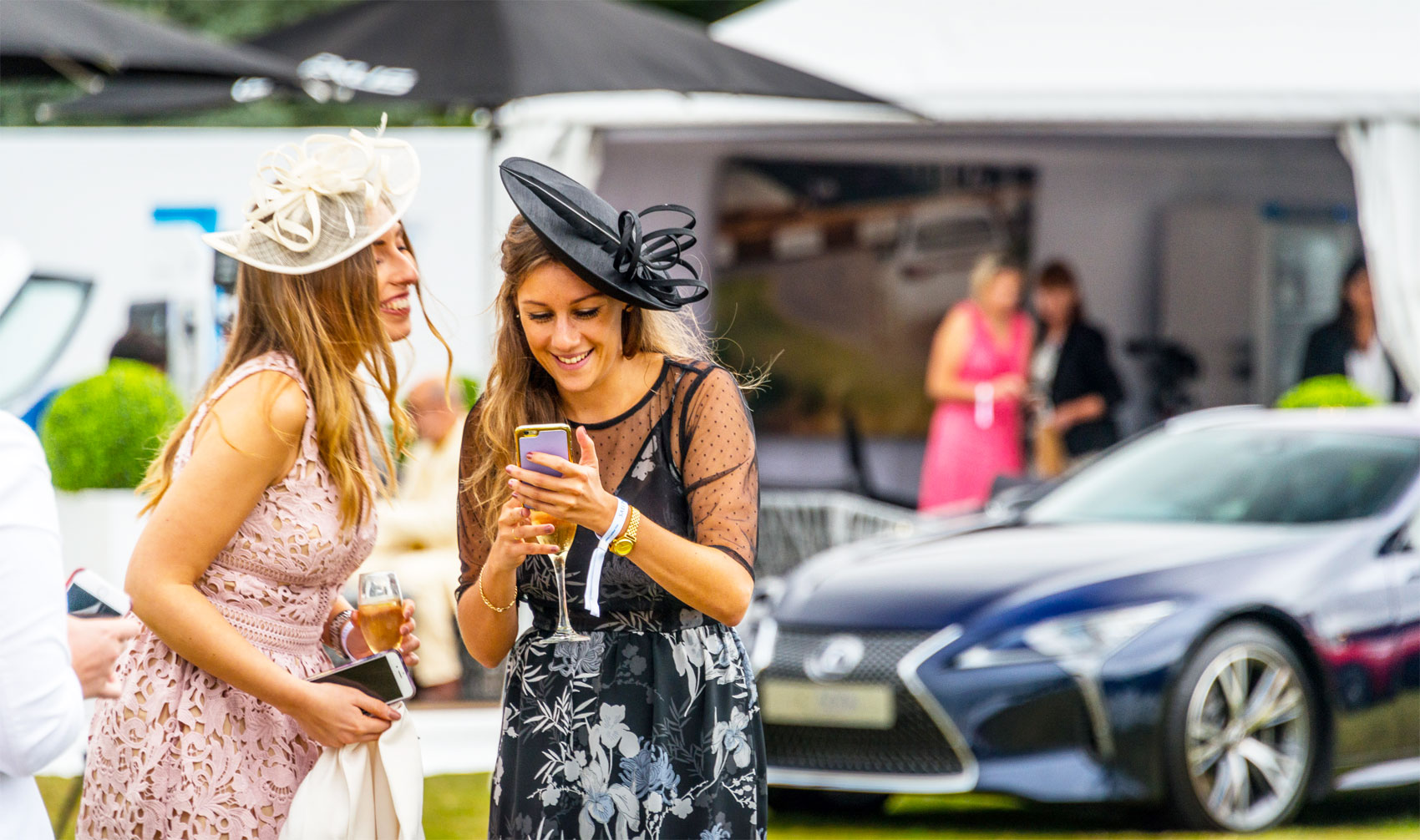 Lexus Shines Brightly Under Cloudy Skies At Salon Prive 2016