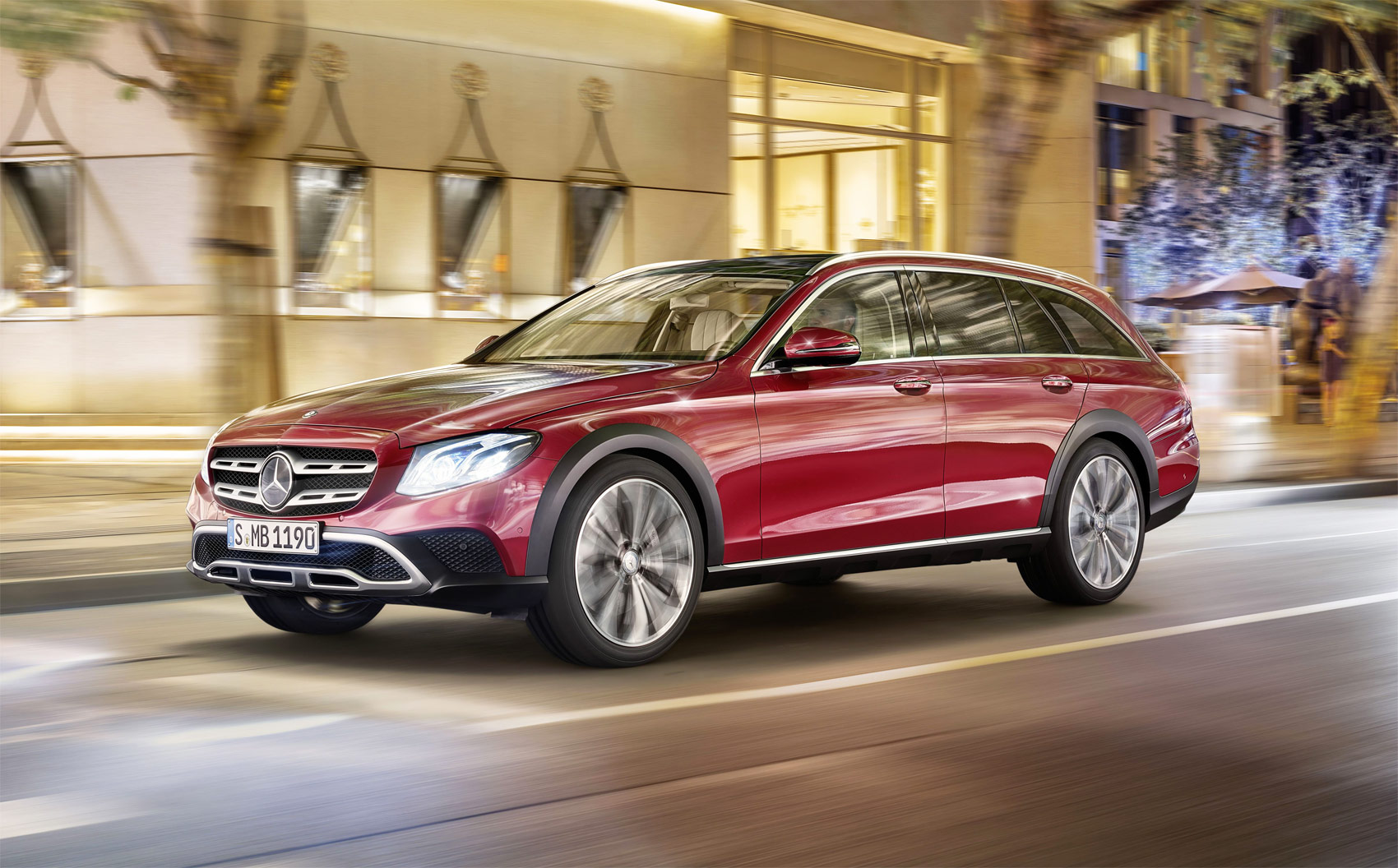 Practical & Stylish – That's The New Mercedes-Benz E-Class All-Terrain