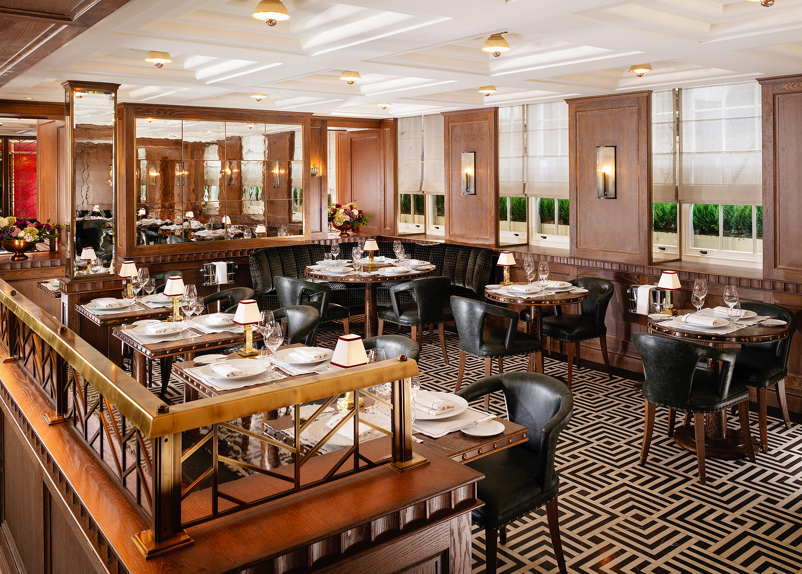 Shaun Rankin's Ormer Mayfair Arrives At Flemings Hotel In London