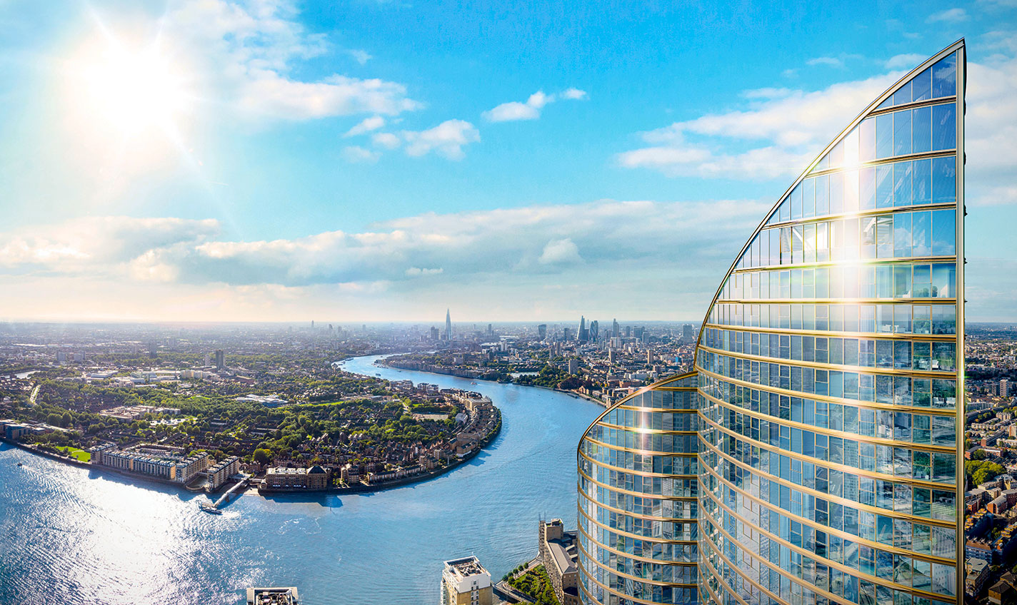 The 771ft Spire London Will Be Western Europe's Tallest Skyscraper