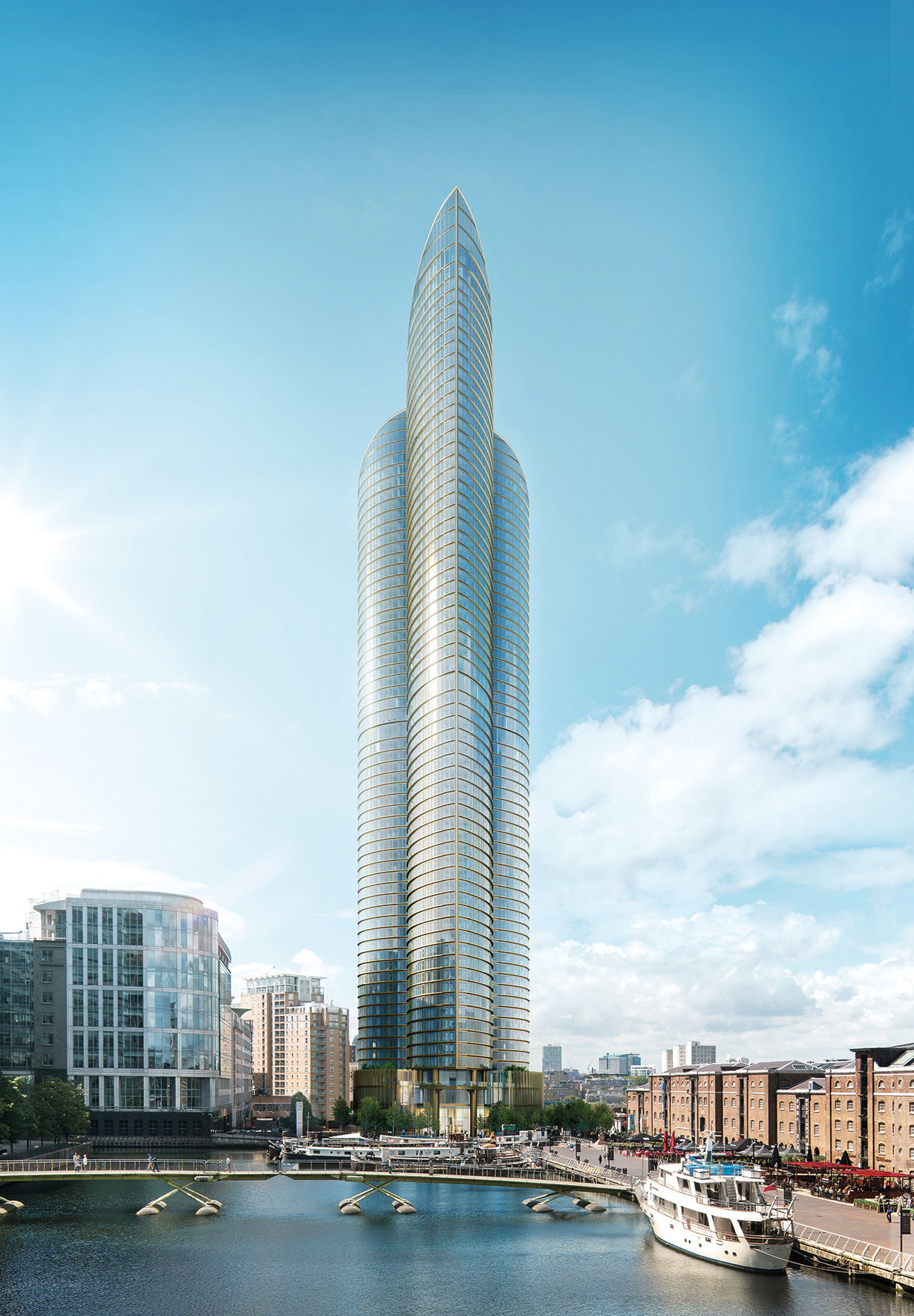 The 771ft Spire London Will Be Western Europe's Tallest Skyscraper 6