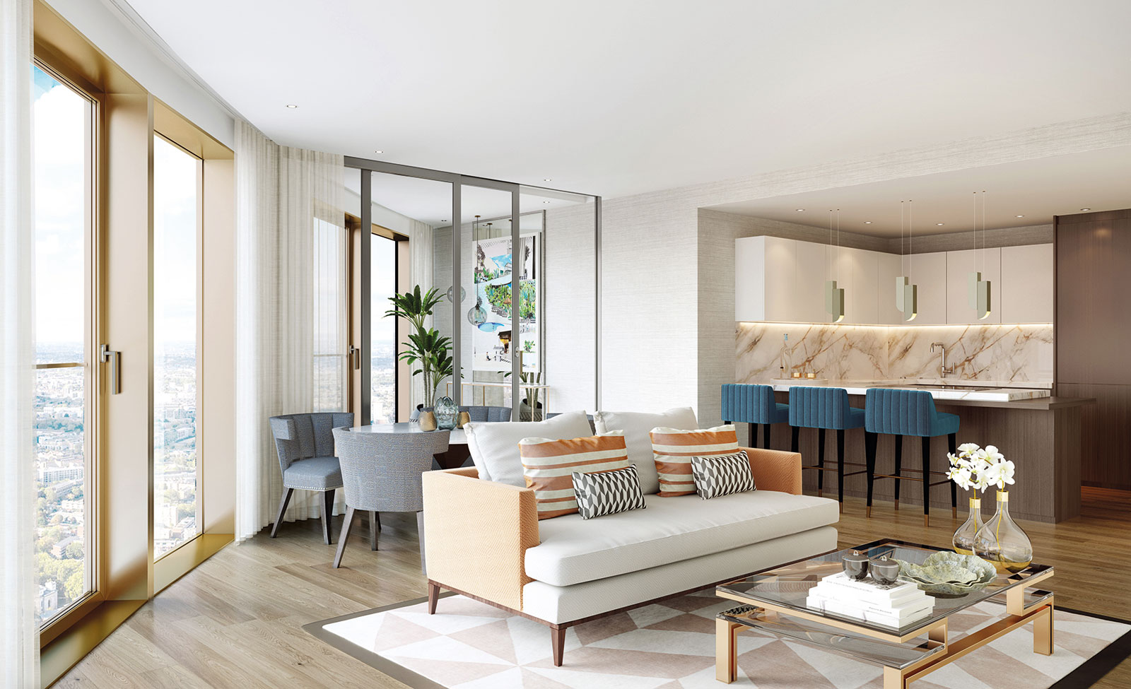 Spire London will provide 861 apartments of which 765 are for private sale