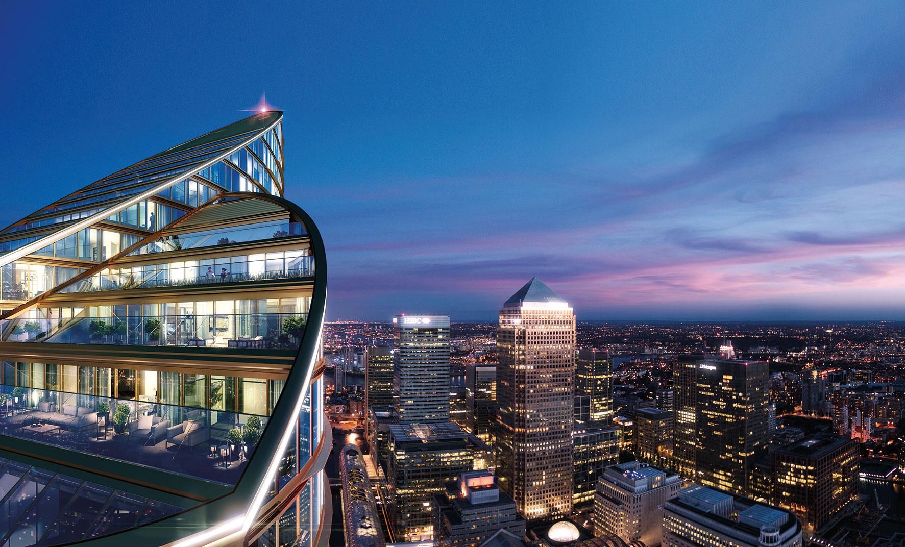 Spire London Penthouse