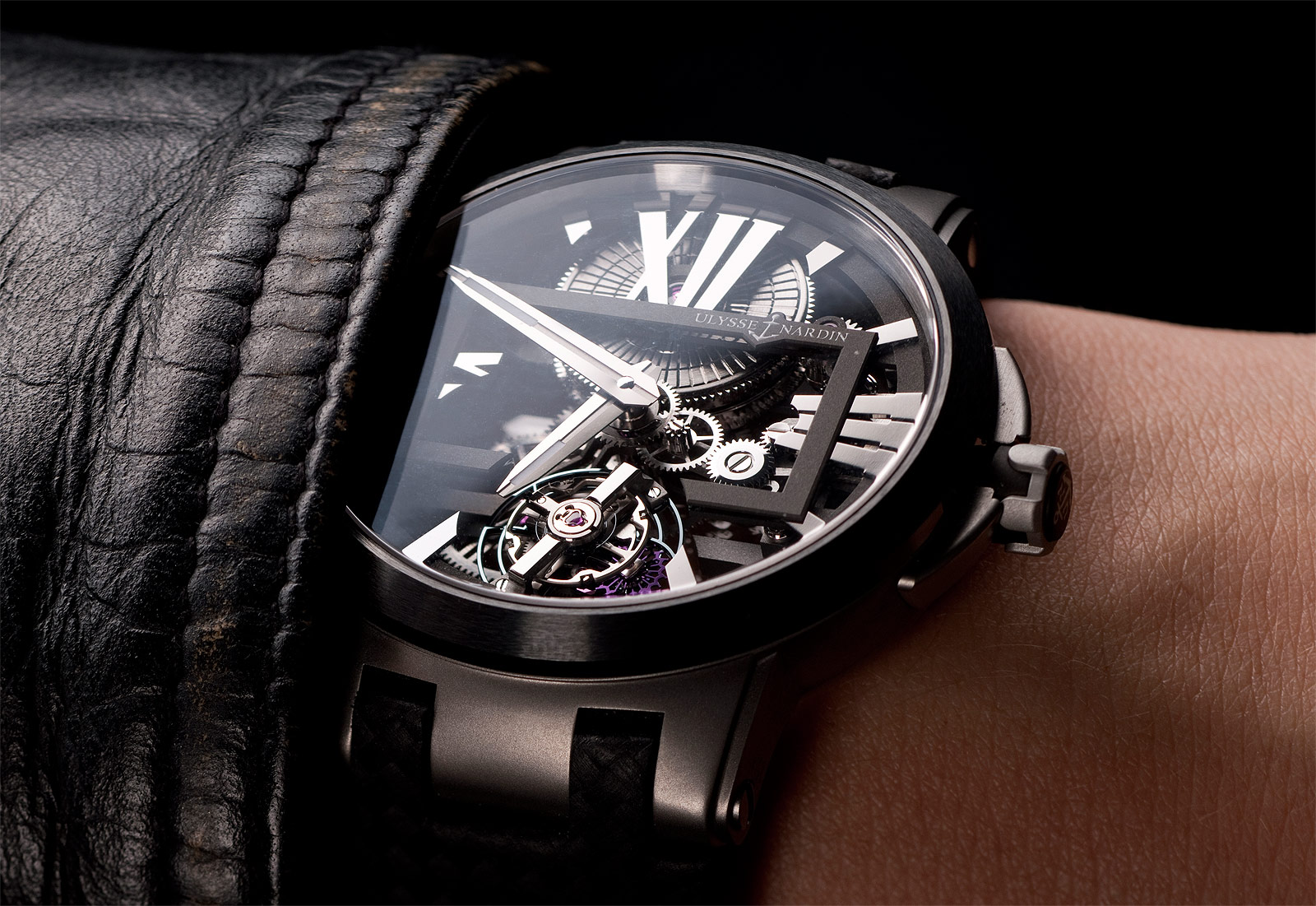 Ulysse Nardin's Executive Skeleton Tourbillon; Continuing To Redefine The Timepiece