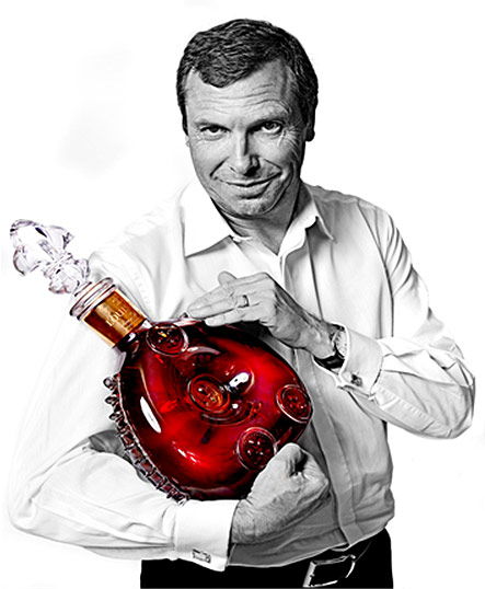 Vincent Gere, Asia Pacific director of Louis XIII
