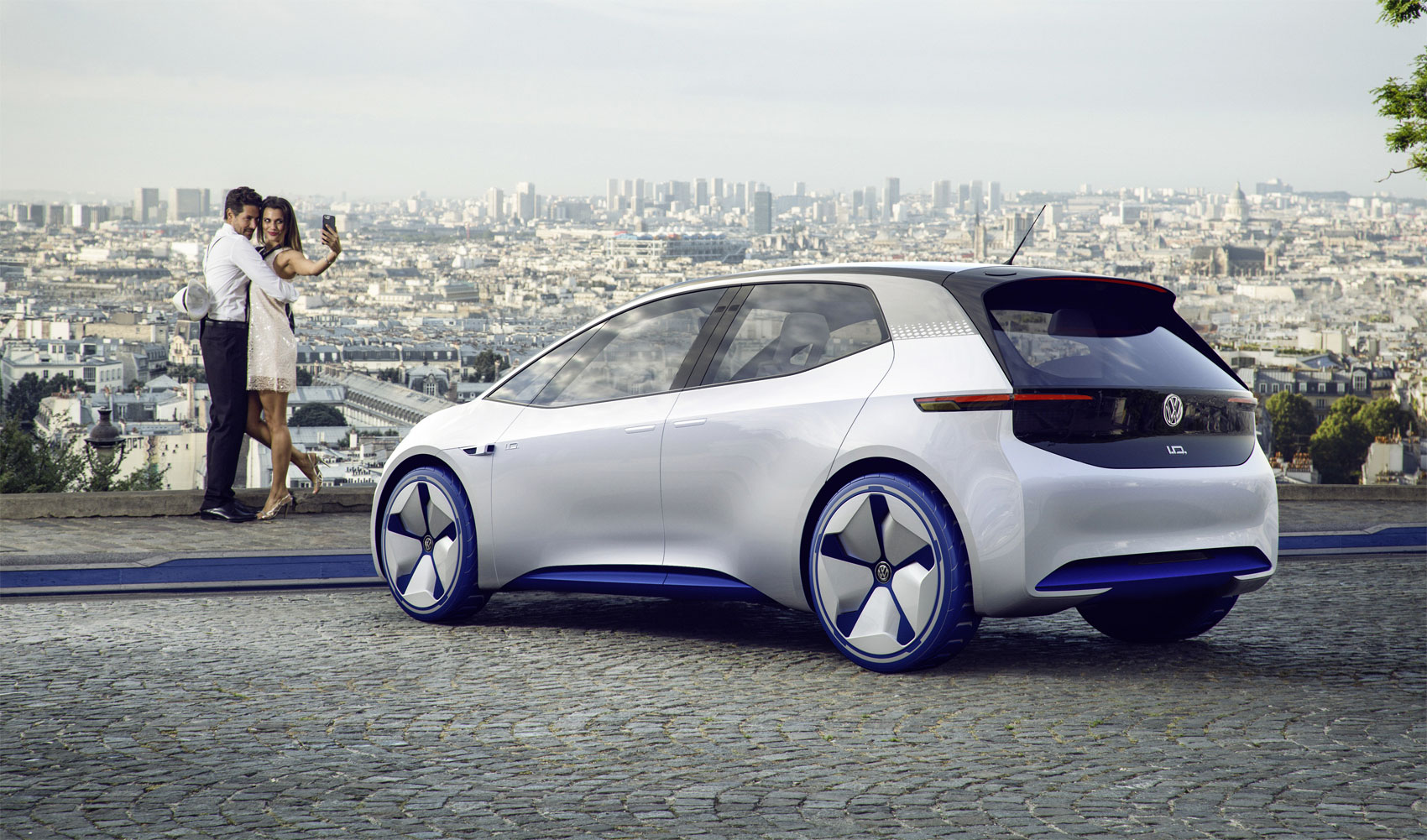 Volkswagen Puts Some Spark In The Electric Car Sector With Its I.D Showcar
