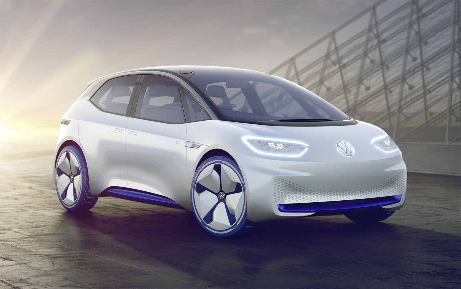 Volkswagen Puts Some Spark In The Electric Car Sector With Its I.D Showcar 6