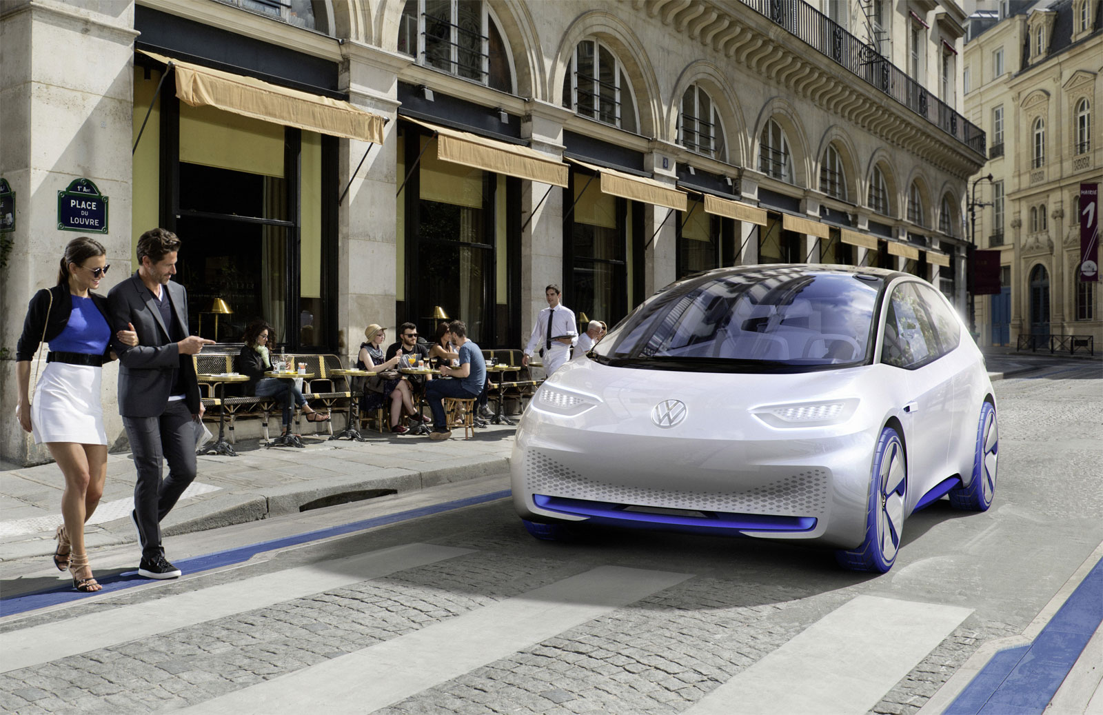 Volkswagen Puts Some Spark In The Electric Car Sector With Its I.D Showcar 5