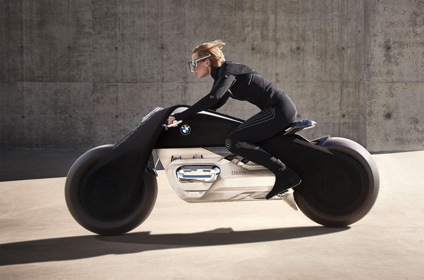 BMW Motorrad Unveils The 'Trontastic' VISION NEXT 100