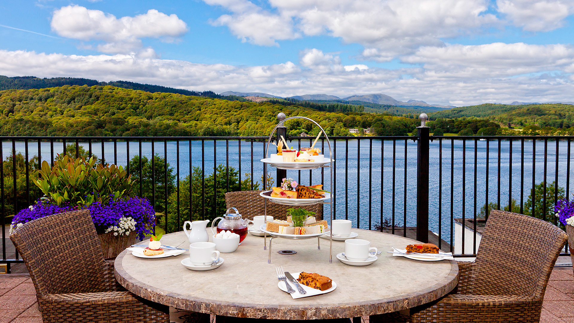 Beautiful Vistas From The Lake District's Beech Hill Hotel & Spa